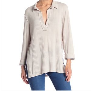 Free People Annie Grand Pa Pullover Top